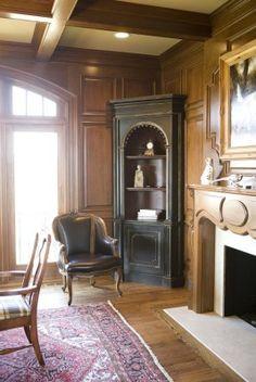 decor, interior, gracious live, man room, preserv hous, corner cabinets, homes, habersham, countri hous