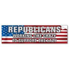 Working Like Crazy Bumper Sticker by politstickers