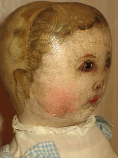 Lovely antique Columbian Doll