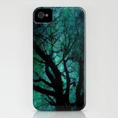 Mystical Blue iPhone Case by Ally Coxon | Society6