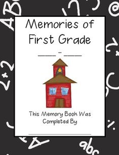 End of the Year Memory Book, for purchase.
