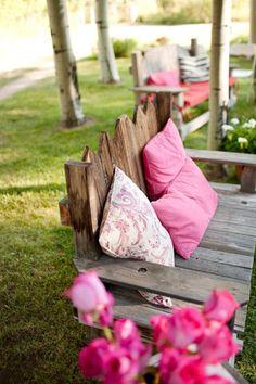 garden bench :)
