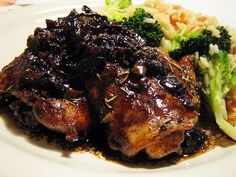 balsamic chicken by you can count on me, via Flickr