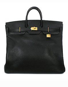 VISNJA BRDAR'S PICK - Vintage Hermes Vache Ardenne Leather Carry All - $9900