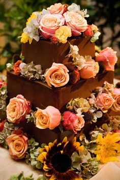 Love the colors. By CAKE: Wedding Cakes and Special Occasion Cakes in San Diego