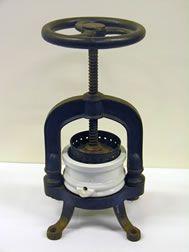 Cream Cheese Press, c1900 - 1950