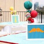 mustache party, little man birthday, centerpiec, birthday parties, mustach bday