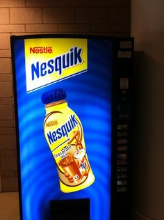 Another example of a sugary beverage being marketed to students at a Maryland school.