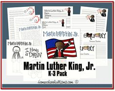 Martin Luther King Day Free Tater Tot and K-3 Packs