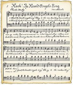 Free printable sheet music with a vintage look. Handy for cute craft ideas.