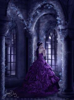 Princess in purple...
