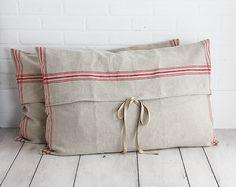 Linen pillow covers <3