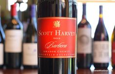 The Reverse Wine Snob: Scott Harvey Amador County Mountain Selection Barbera 2012 - Amore! Another fab find from the Sierra Foothills. http://www.reversewinesnob.com/2014/08/scott-harvey-amador-county-mountain-selection-barbera.html #wine #winelover