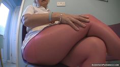 Sexy milf thighs in pink pantyhose tights. Daniella in pantyhose and nylon.