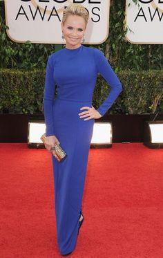 Modest Fashions at the Golden Globes: Kristin Chenoweth