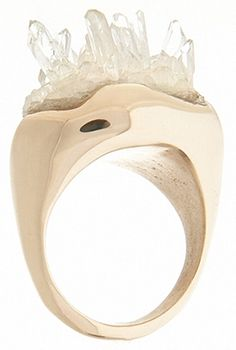 Cosa Fina Jewelry » raw collection » raw quartz ring ($500-5000)