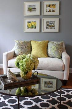 grey living room decorating ideas | gray living room