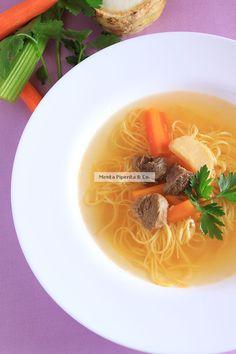 Mäsová polievka