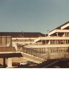 My own photograph from 1979 of the Université François Rablelais in Tours - Loire Valley, France.