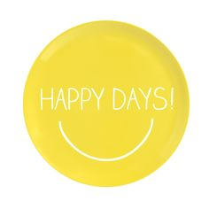 Happy Jackson Yellow Happy Days Serving Plate (£9.99)
