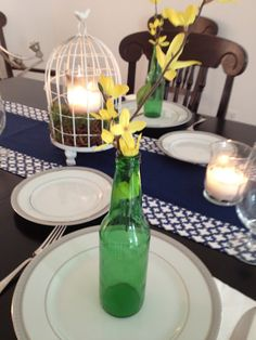 Easy Easter table decor