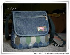 new bag from old jeans - foto tutorial