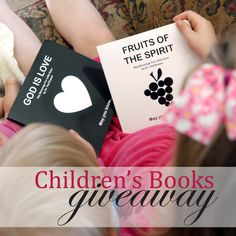 Big Blessings for Little Eyes Children's Book Giveaway via Unexpectant. Earn up to 7 entries. Giveaway ends 10/14/13. // Super cute board books written from a Christian perspective.