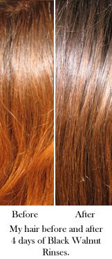 Naturally darken your hair, more quickly and successfully ^_^
