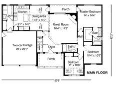 1960 Ranch Style Home Plans as well FP RaisedRanches likewise Free Beach House Plans HousePlanStyle 4 moreover Guest House also 3 Bedroom Plans. on raised ranch house plans