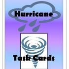 This set of nine task cards engages students and requires higher-level thinking. Tasks include: writing mock interviews, researching weather related careers, making comparisons between Hurricane Sandy and other known hurricanes, writing poetry, making tables and graphs. The activities are designed for groups/partners to work together to investigate, create, and present information about hurricanes.