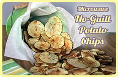 Microwave Potato Chips. Really want to try these!