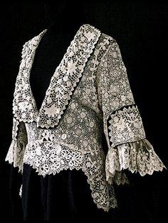 Irish crochet jacket ... c. 1910