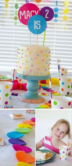 Polka Dot Party Idea
