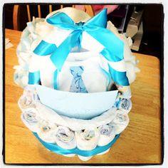 Diaper Gift Basket Tutorial
