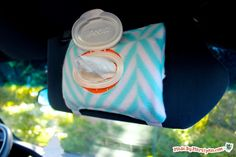 Visor Wet Wipes Holder: Made By Marzipan