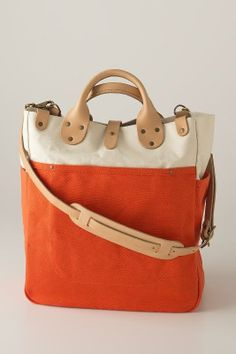 Canvas Utility Bag – for all the adventurous things! / Schoolhouse Electric