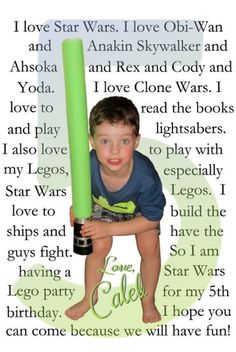 Star Wars Party Invitation - Crafty Party