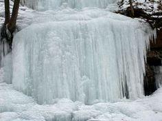 Easthapton mass FROZEN WATERFALL