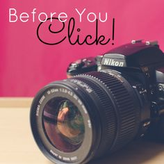 Back to the Basics: What to Think About Before You Click