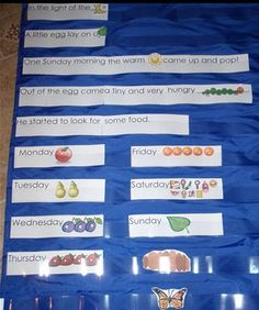 From Teaching Heart: The Very Hungry Caterpillar Unit (K-3) Lessons, Links, printables, & ideas