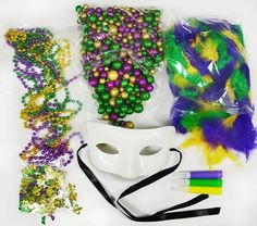 DIY masquerade masks- great kids craft for Mardi Gras