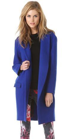 felt wool, fashion design, cobalt blue, nichola, fall fashion, wool coat, felted wool, coats, blues
