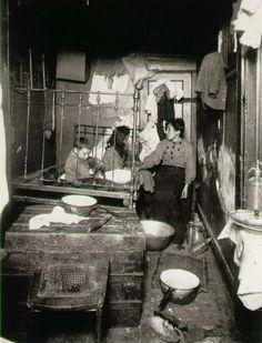 Poor Home, New York City Tenement  1910