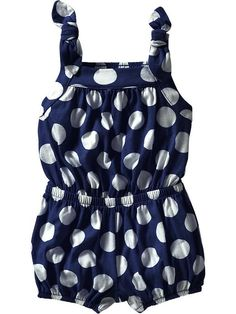 Old Navy | Bow-Tie Jersey Rompers for Baby