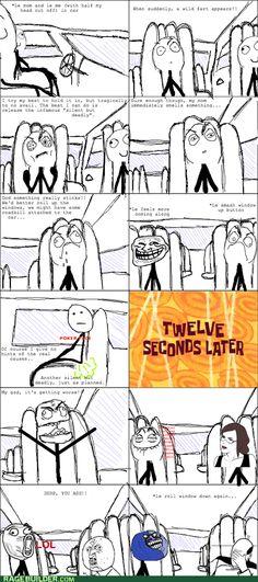 Hahaha!! Rage Comic! meme