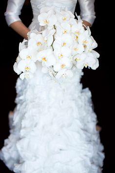 An orchid bouquet. Photo: Yuliya M.