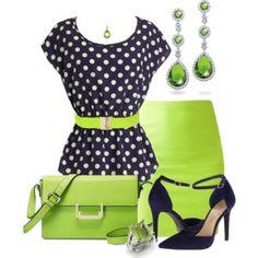 Verde impactante!