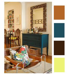 Color story for Living Room