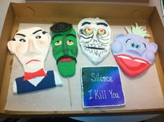 Spokane's Desserts by Sara amazed us again with these puppet-inspired cookies for Jeff Dunham!