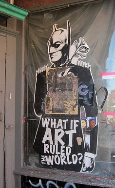 What If Art Ruled The World? by Stikki Peaches